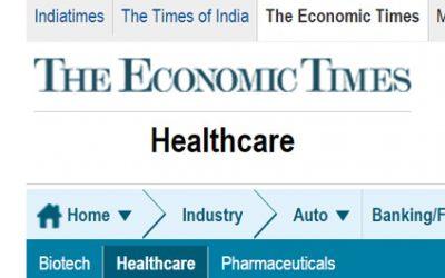 Le Times Economic écrit sur les professions suisses en Ayurvéda